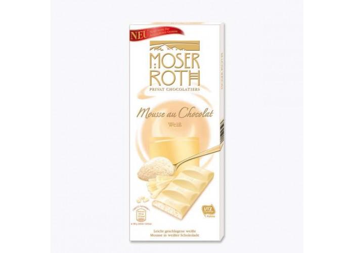 Moser Roth Mousse au Chocolate 4 feine Tafeln 150g White