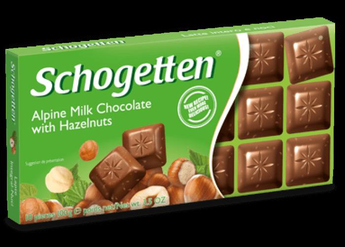 Alpine Milk Chocolate with Hazelnuts