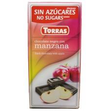 Torras 75g Negra Manzana