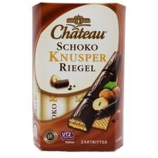 Schoko Knusper Riegel Zartbitter