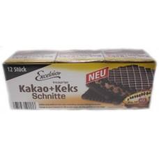 Kakao+Keks Schnitte